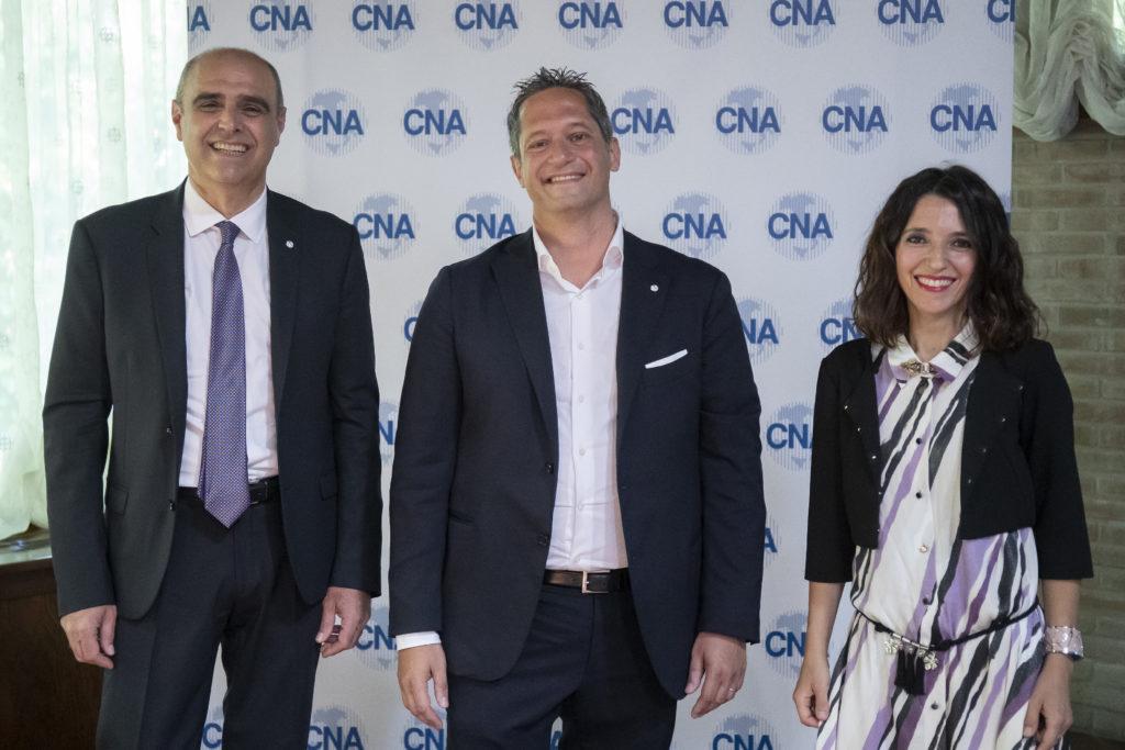 Matteo Leoni con Marianna Panebarco e Massimo Mazzavillani